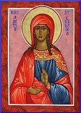 Icon of St. Christina used with permission from Archangel Icons